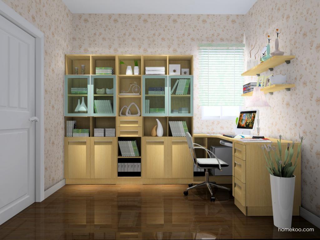 丹麦本色书房家具C4448