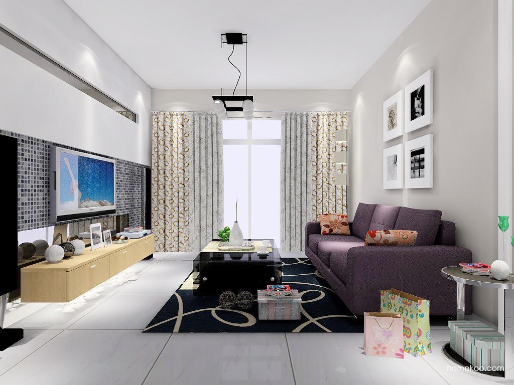 新实用主义客厅家具D7146
