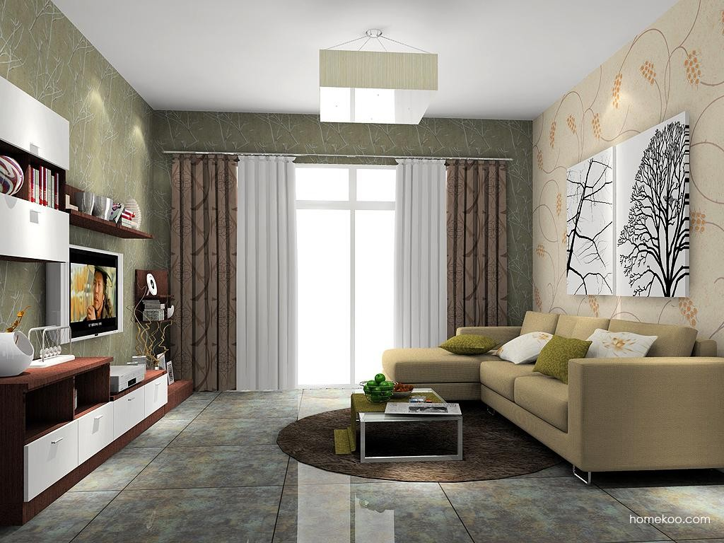 新实用主义客厅家具D7143