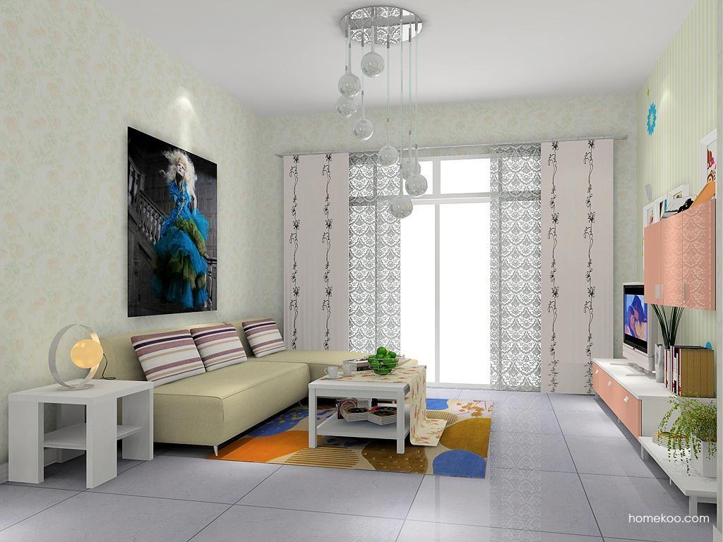 浪漫主义客厅家具D7161
