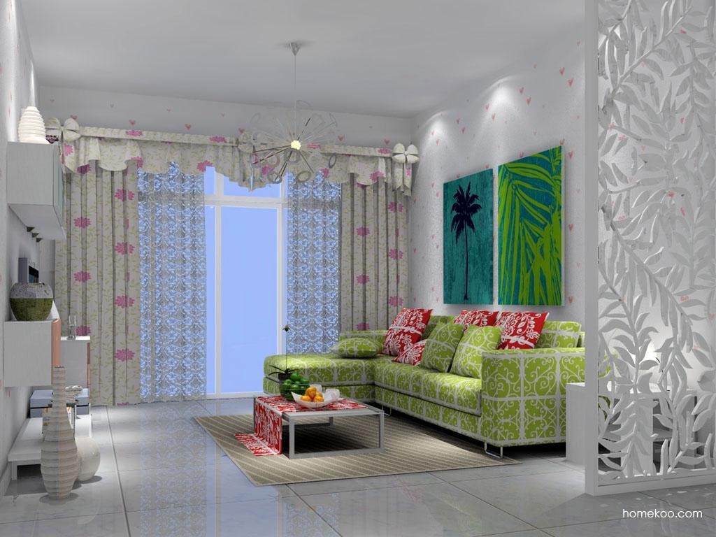 浪漫主义客厅家具D7156