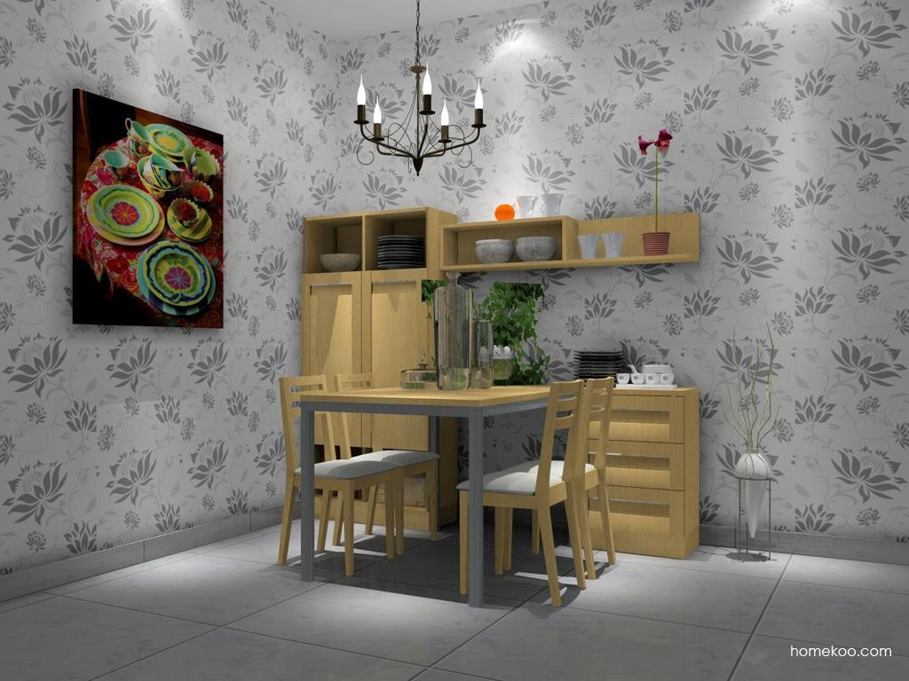 丹麦本色餐厅家具E1977