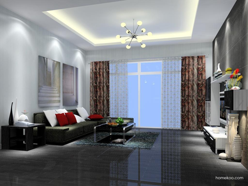 简约主义客厅家具D7173