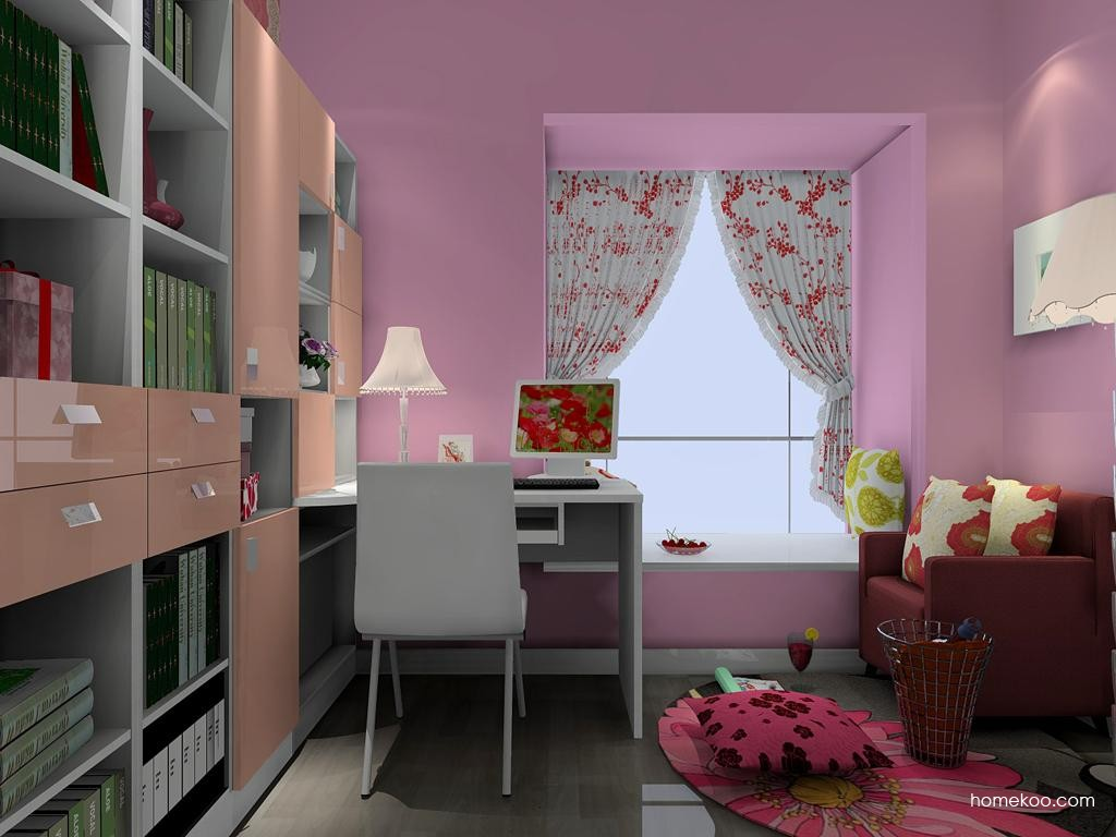 浪漫主义书房家具C4471