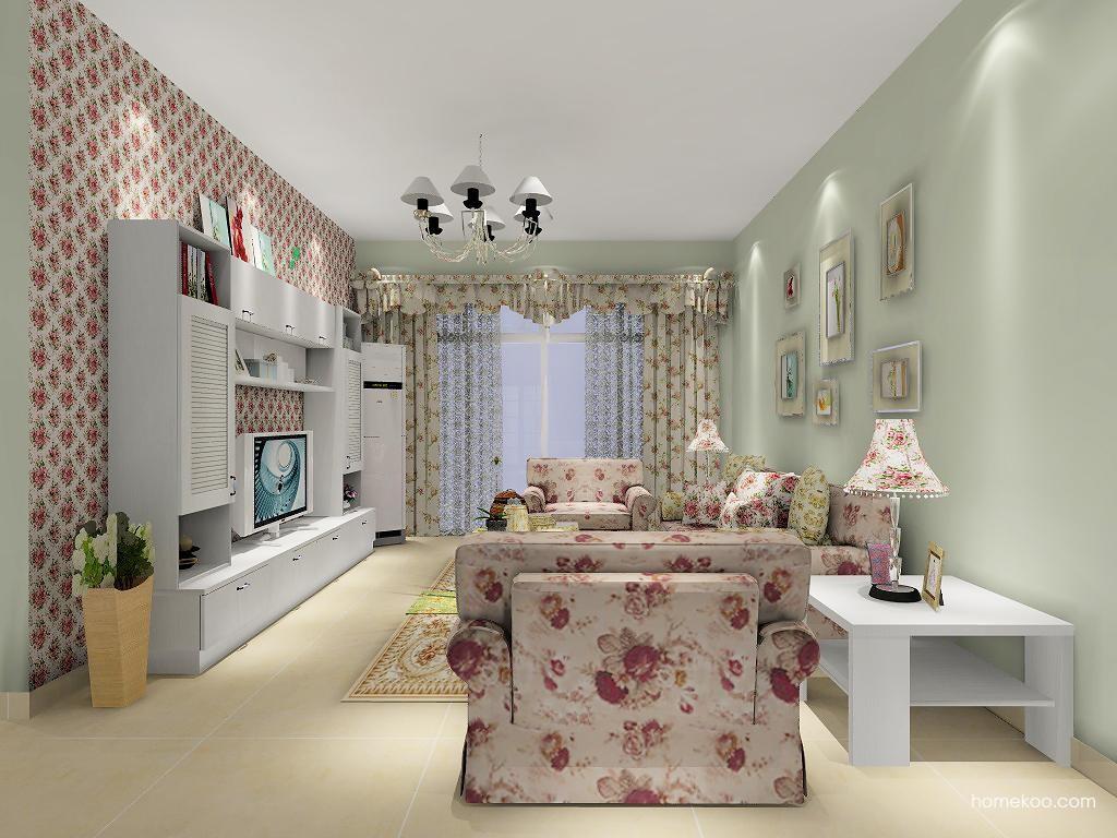 韩式田园客厅家具D7168