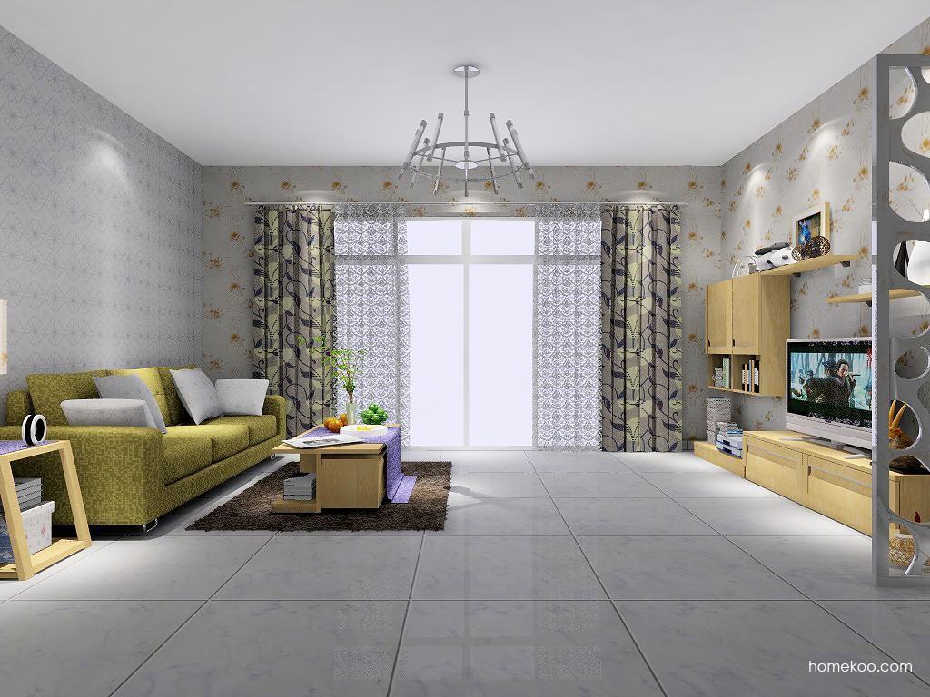 丹麦本色客厅家具D7176