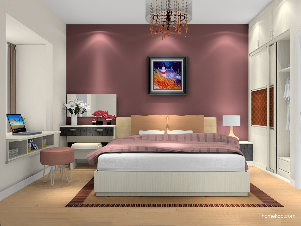 米兰剪影卧房家具A7626