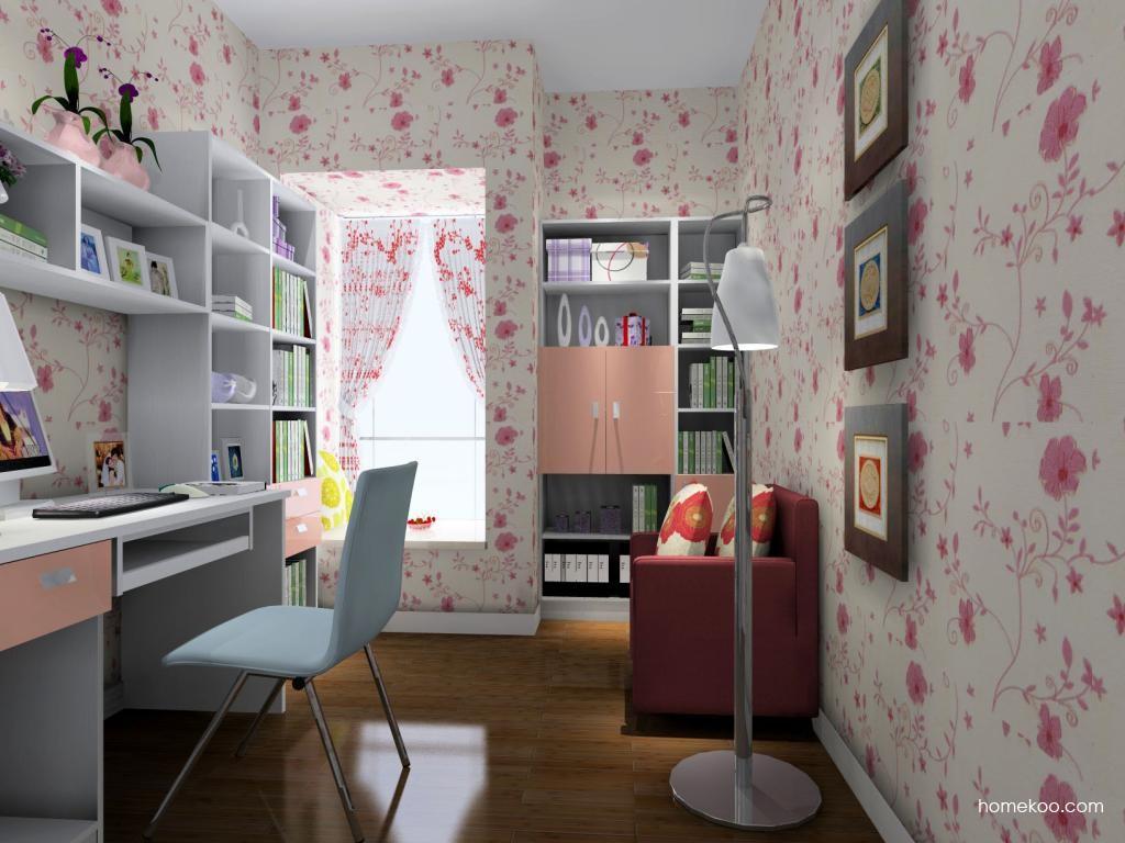 浪漫主义书房家具C4479