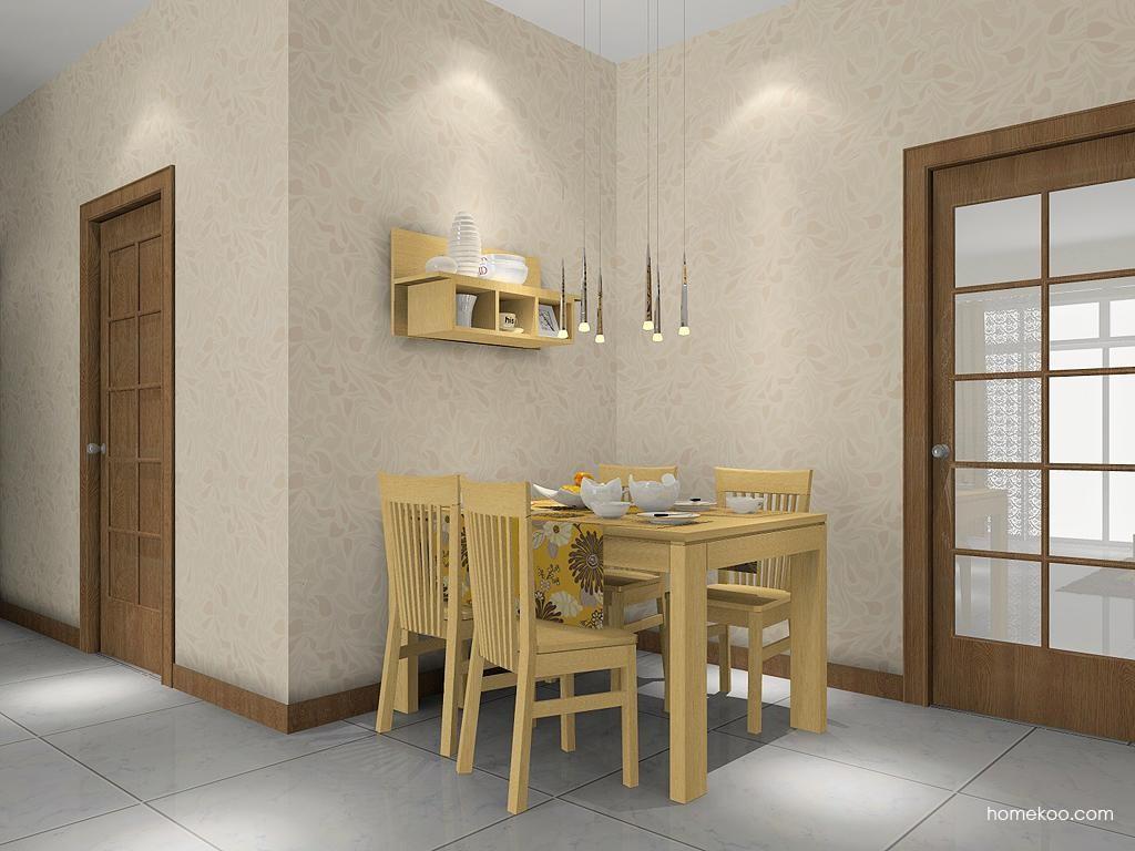 丹麦本色餐厅家具E1988