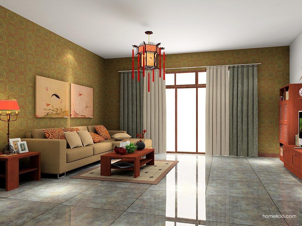 新中式主义客厅家具D7183