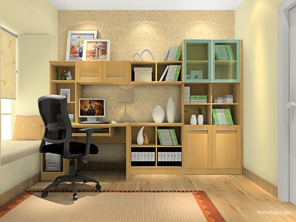 丹麦本色书房家具C4508