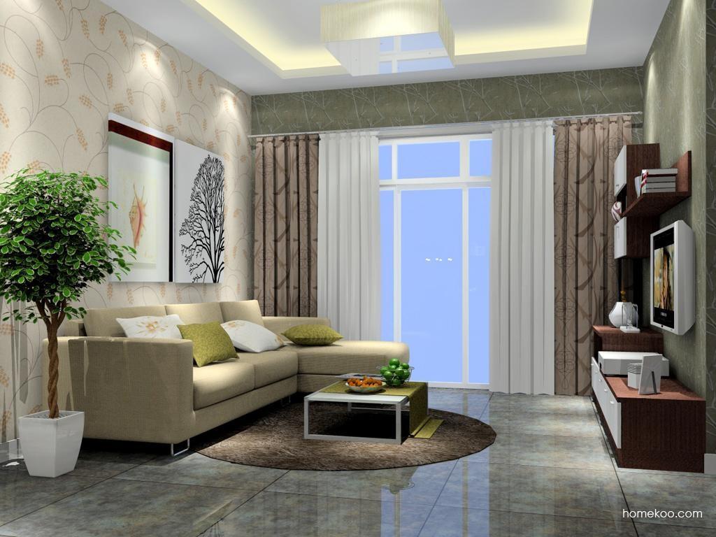 新实用主义客厅家具D7215