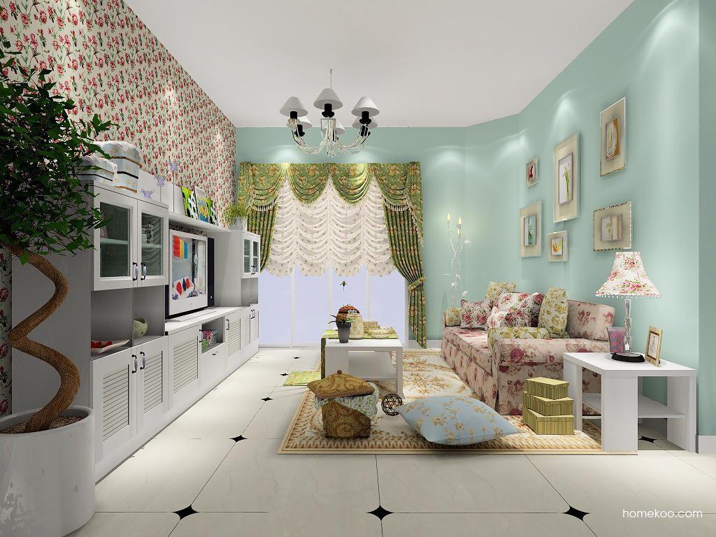 韩式田园客厅家具D7203