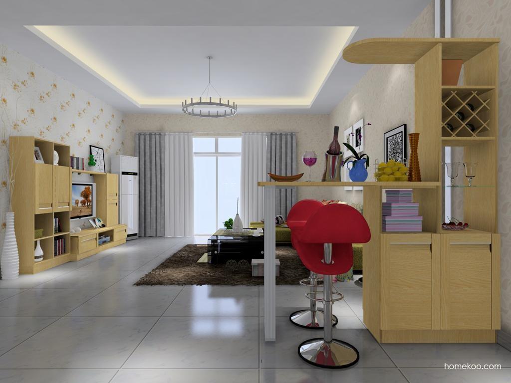 丹麦本色客厅家具D7218