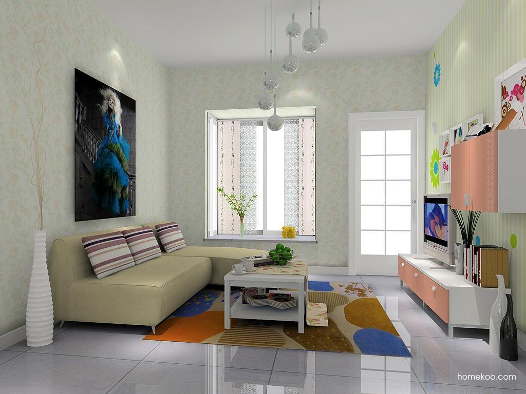 浪漫主义客厅家具D7210