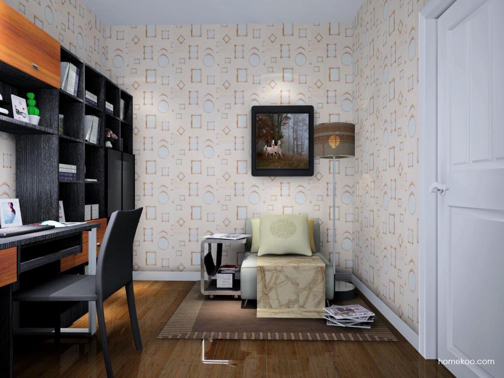德国森林书房家具C4512