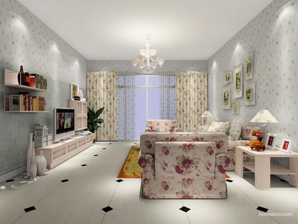 北欧阳光客厅家具D7227