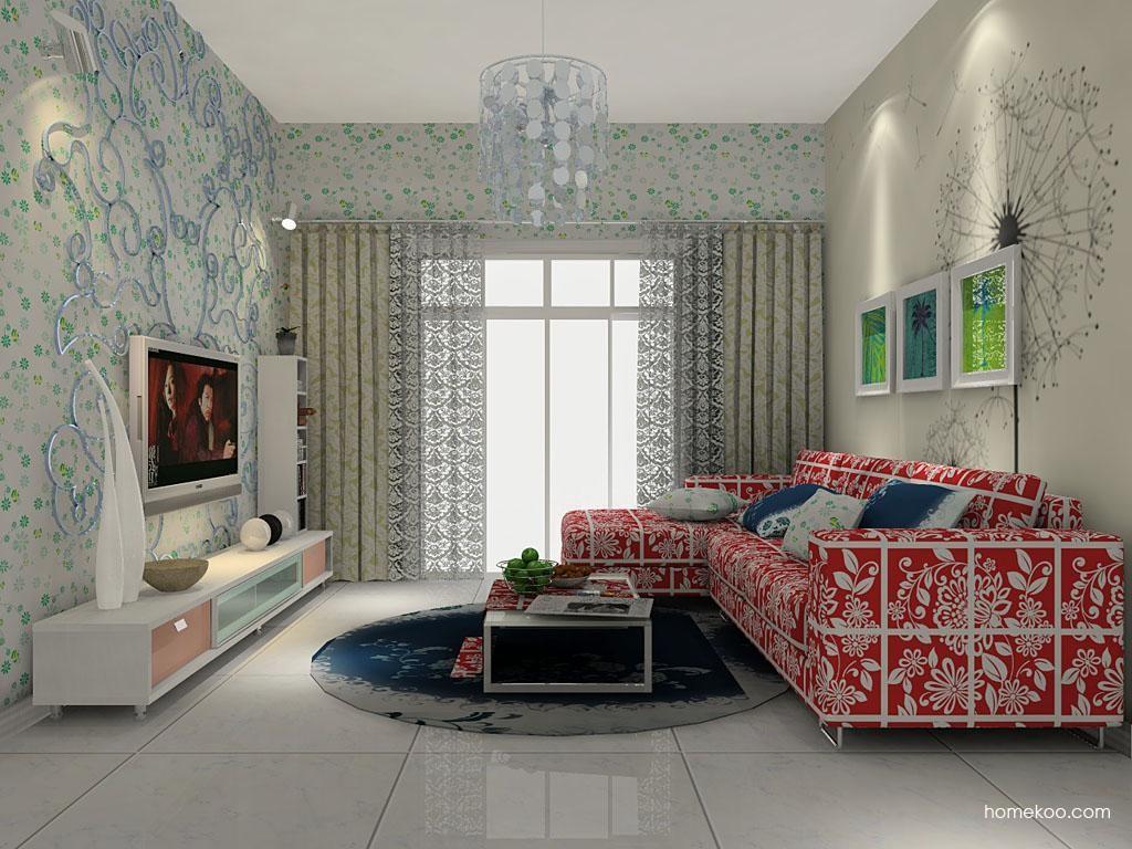 浪漫主义客厅家具D7226