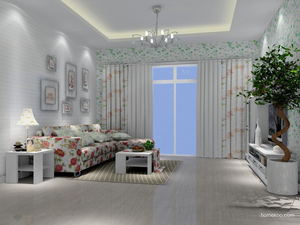 韩式田园客厅家具D7228