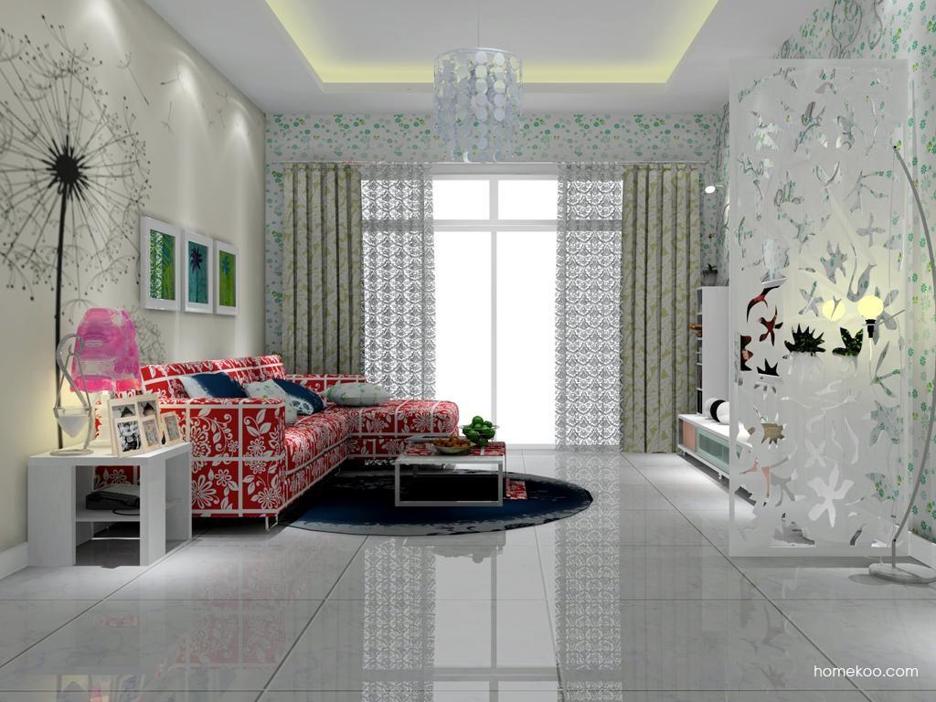 浪漫主义客厅家具D7229