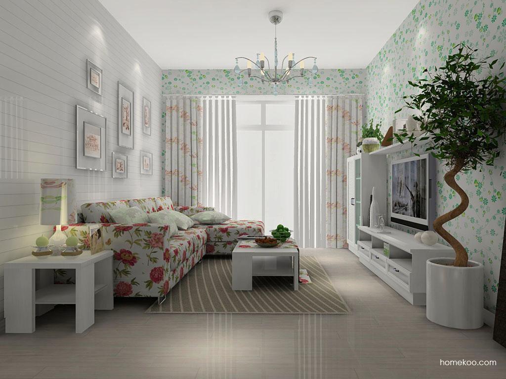 浪漫主义客厅家具D7230