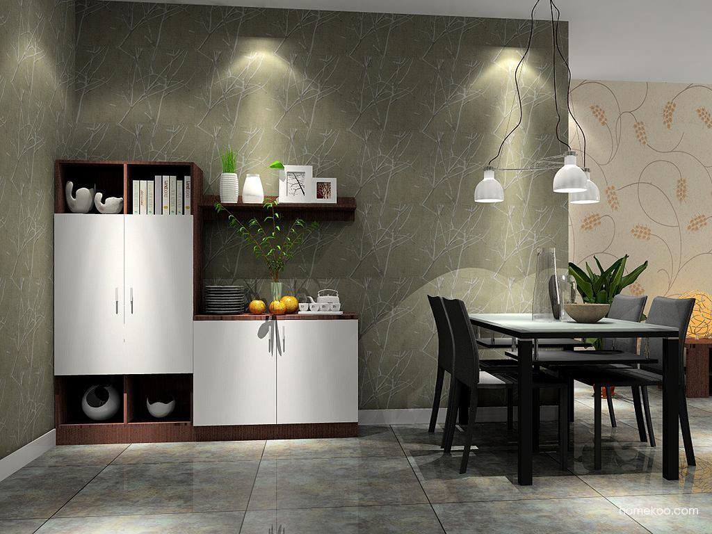 新实用主义餐厅家具E2043