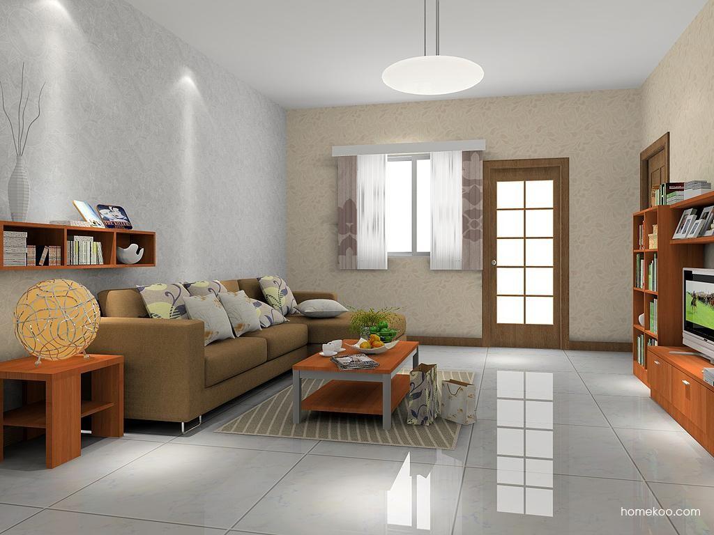 新实用主义客厅家具D7237