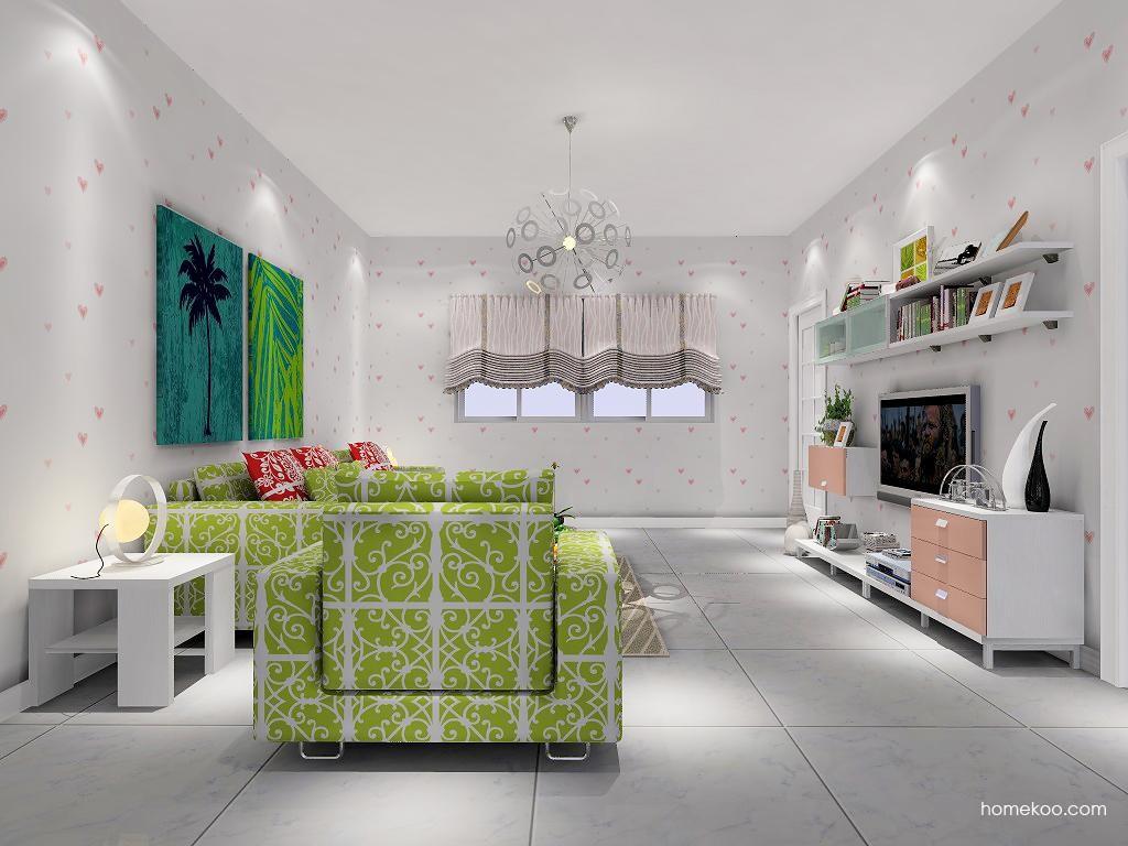 浪漫主义客厅家具D7244