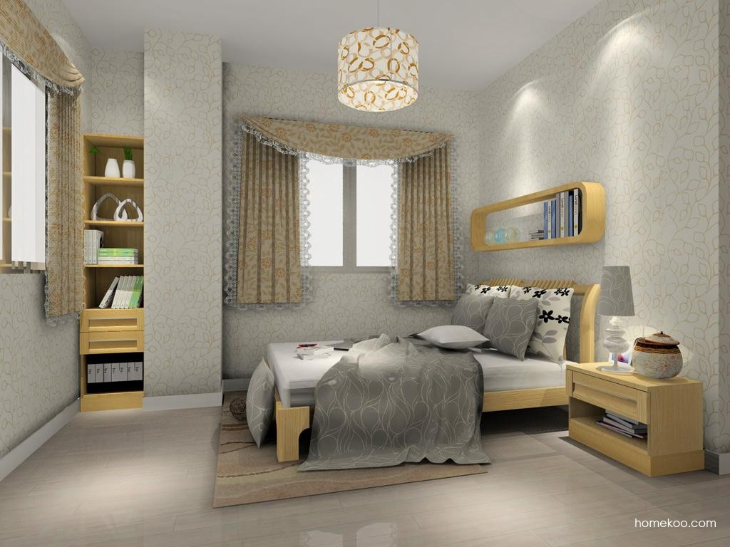 丹麦本色卧房家具A7679