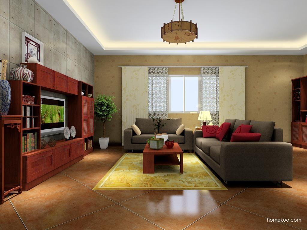 新中式主义客厅家具D7253
