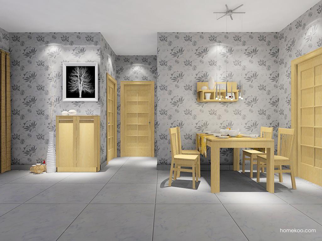 丹麦本色餐厅家具E2062