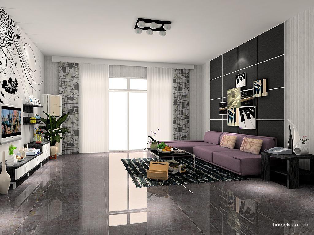 简约主义客厅家具D7260