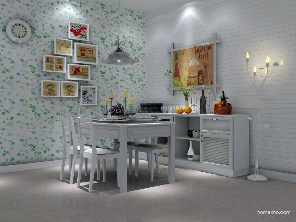 韩式田园餐厅家具E2082