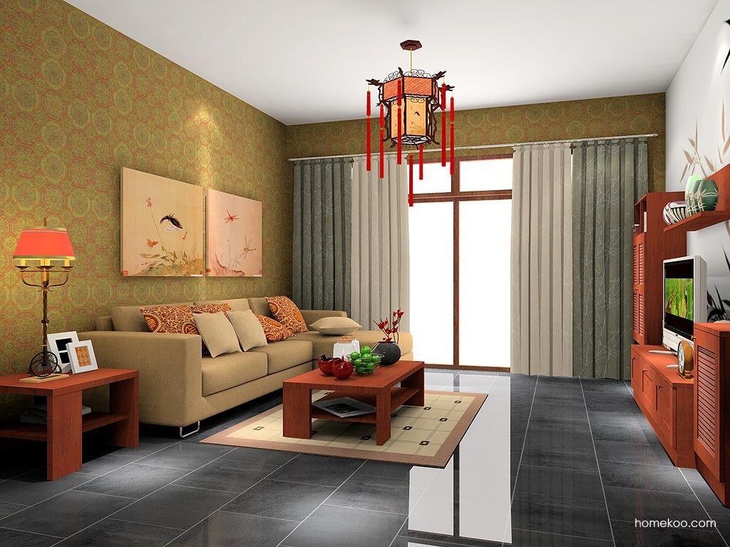 新中式主义客厅家具D7287