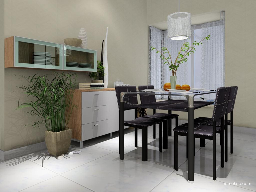 新实用主义餐厅家具E2093