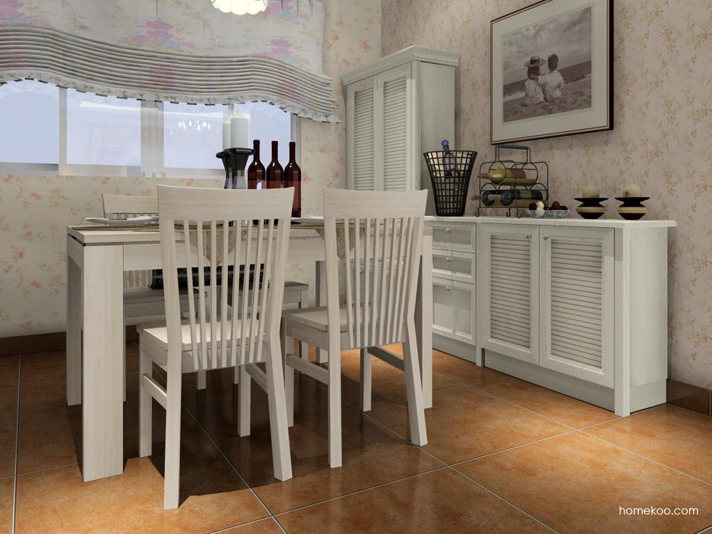 英伦印象餐厅家具E2089