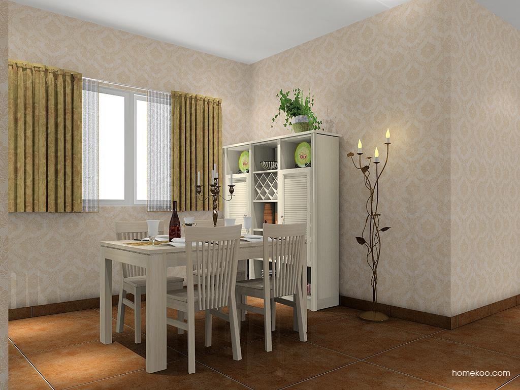 英伦印象餐厅家具E2088