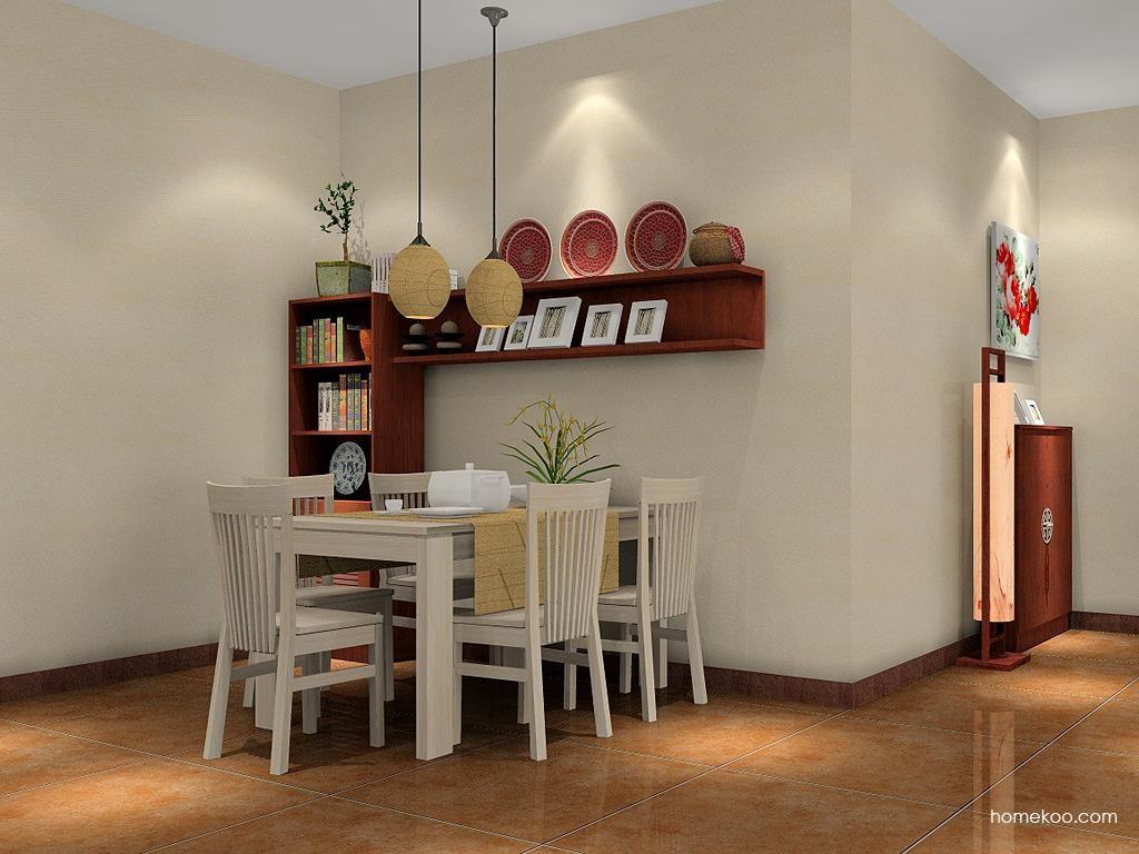 新中式主义餐厅家具E2087
