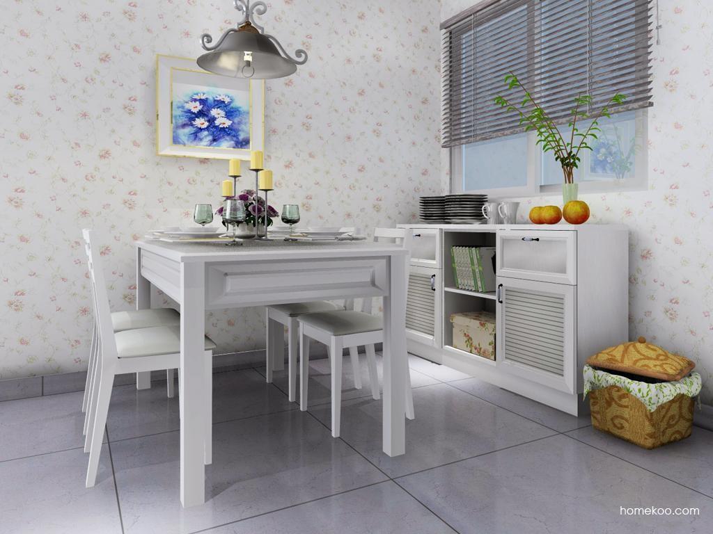 韩式田园餐厅家具E2094
