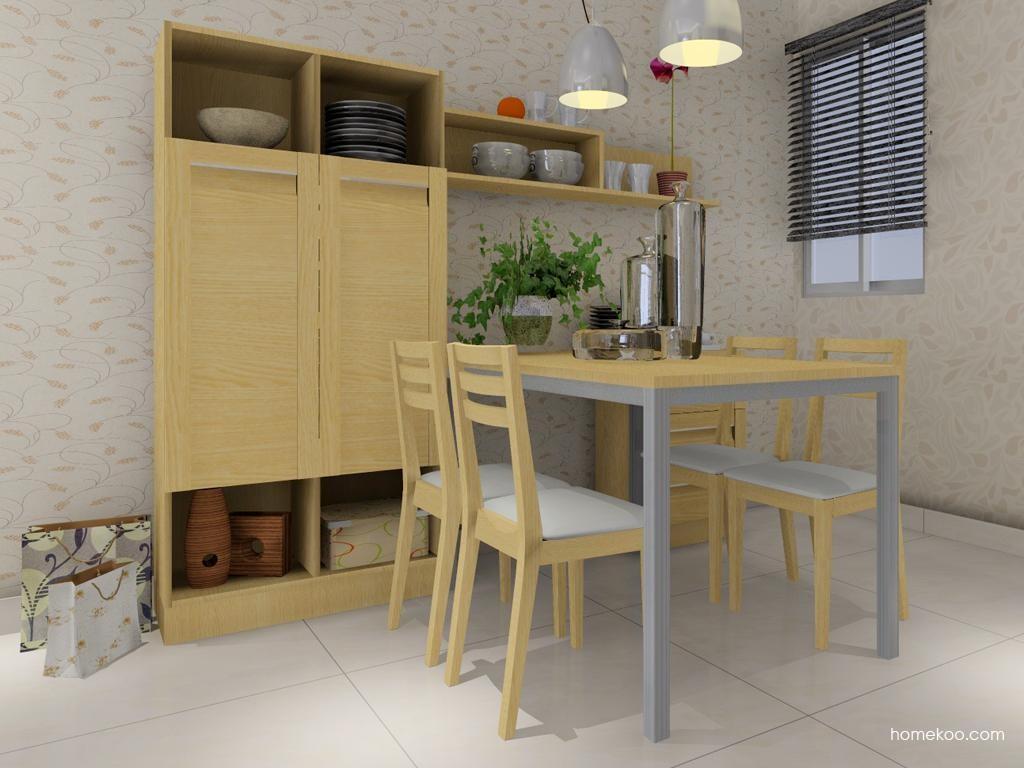 丹麦本色餐厅家具E2095