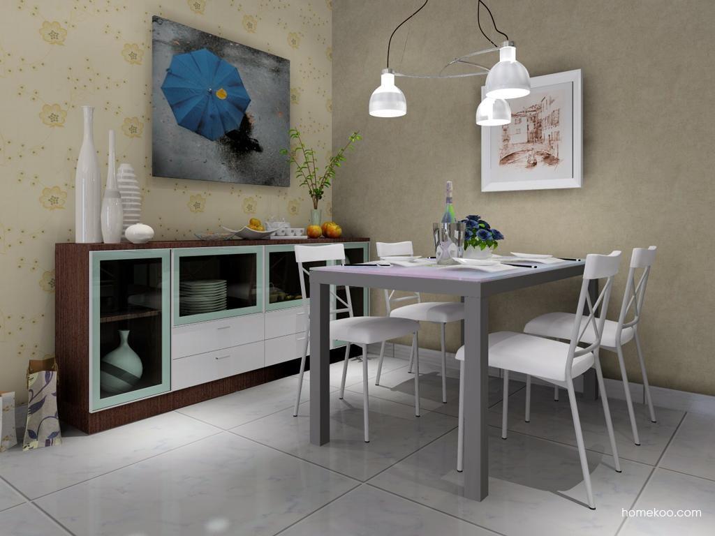 新实用主义餐厅家具E2096