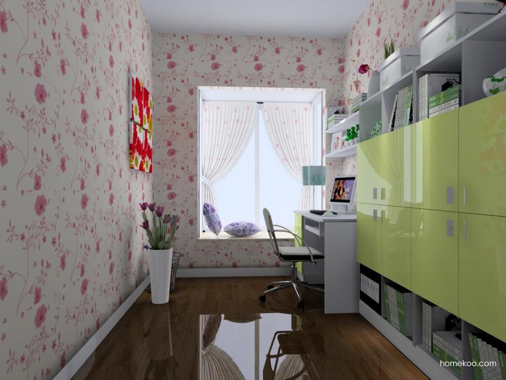 浪漫主义书房家具C4572
