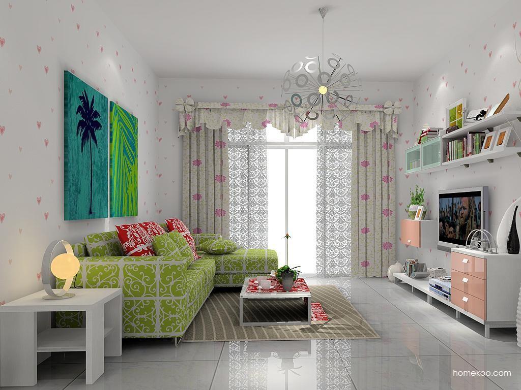 浪漫主义客厅家具D7293