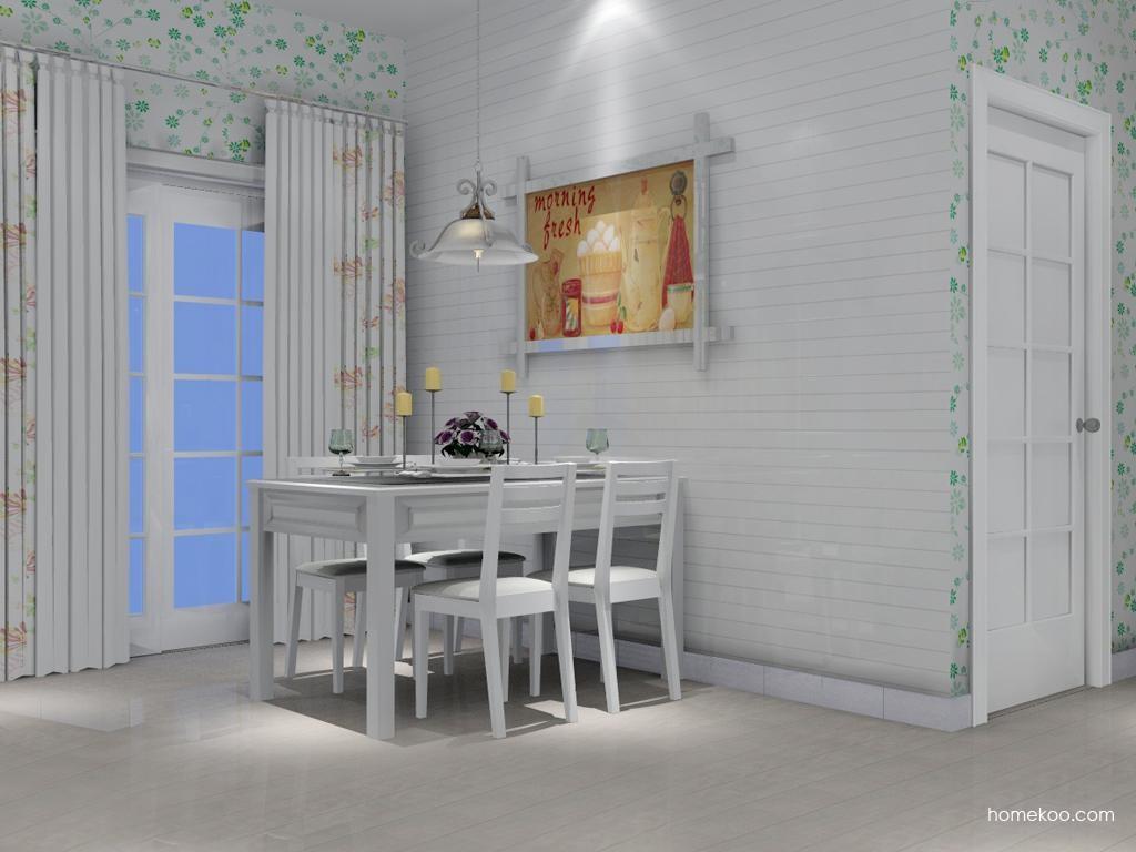 韩式田园餐厅家具E2109