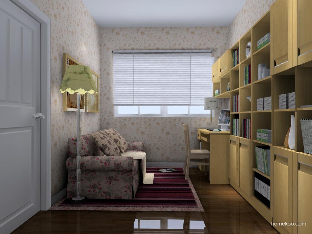 丹麦本色书房家具C4583
