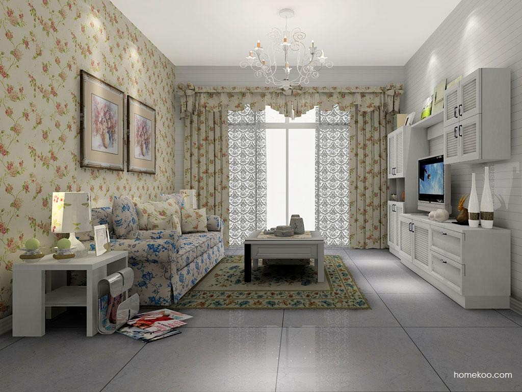 韩式田园客厅家具D7313