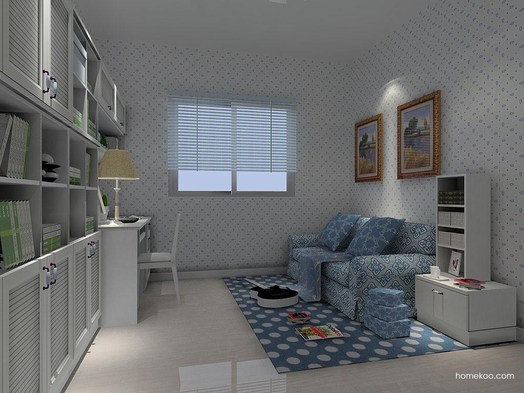 韩式田园书房家具C4602
