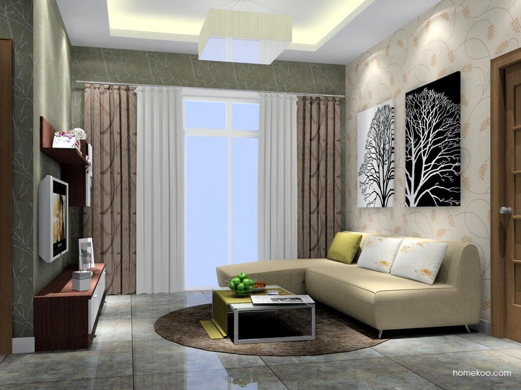 新实用主义客厅家具D7330
