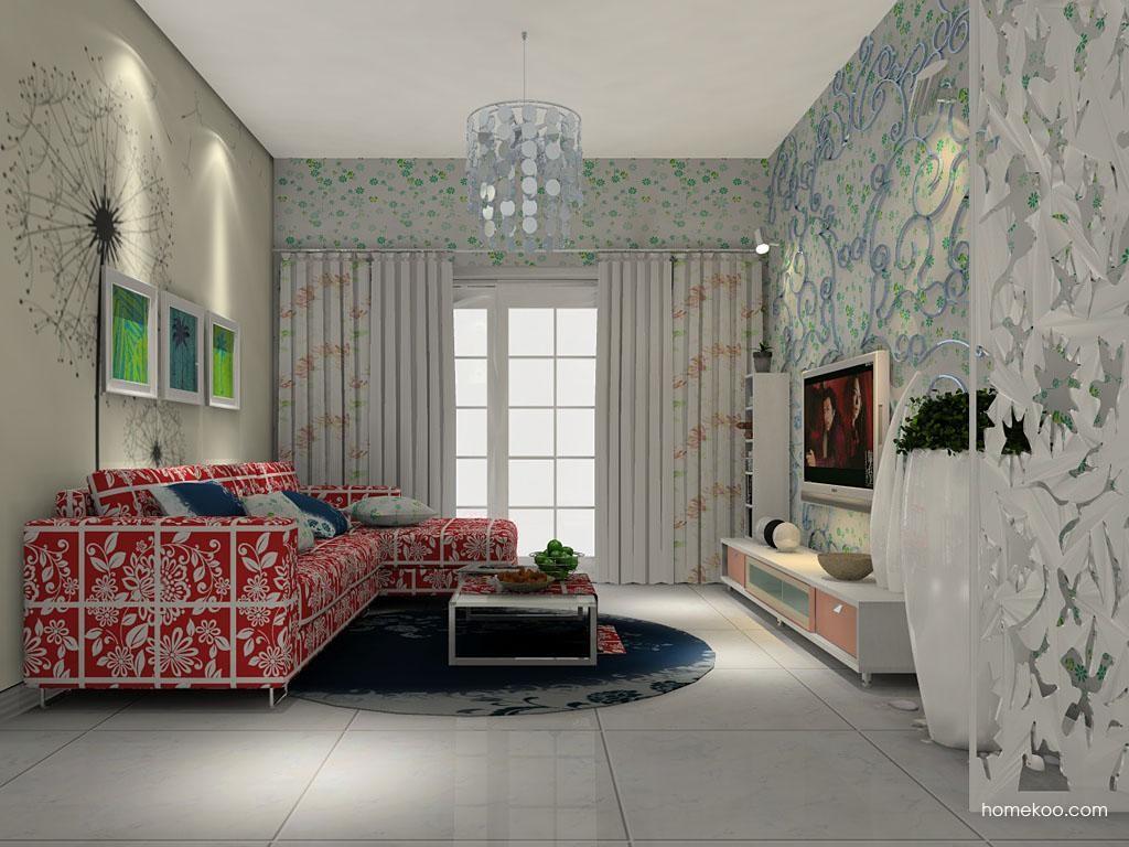 浪漫主义客厅家具D7335