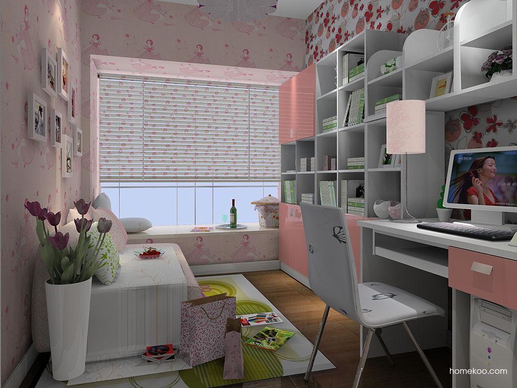 浪漫主义书房家具C4640